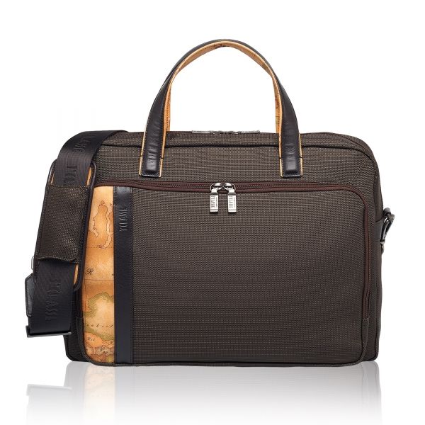 WORK WAY GEO CLASSIC BRIEFCASE Alviero Martini-big