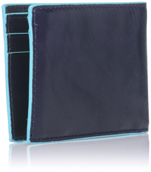 Portofel Orizontal Blue Square-big