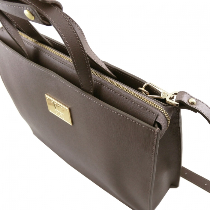 Servieta Palermo Saffiano - Tuscany Leather-big